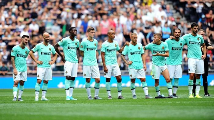 Inter Milan kalahkan Tottenham Hotspur 4-3 lewat adu penalti di ICC (Foto: Alex Burstow/Getty Images)