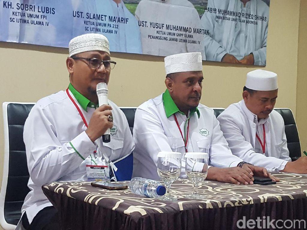 Eks Jubir HTI hingga Gus Nur Diundang ke Ijtimak Ulama IV