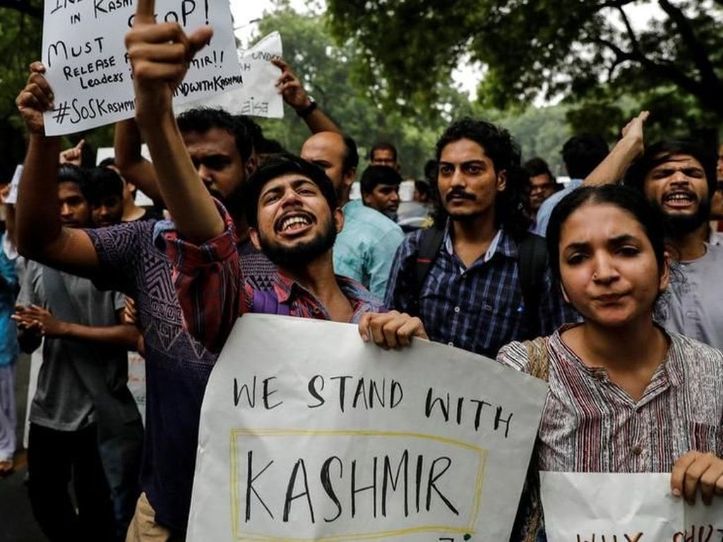 Hari Terkelam Jammu-Kashmir, Kawasan Berpenduduk Muslim di India