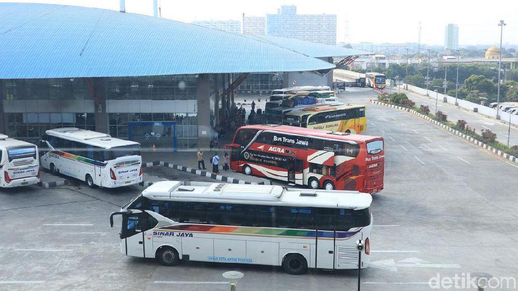 Foto: Fasilitas Penunjang Terminal Pulogebang
