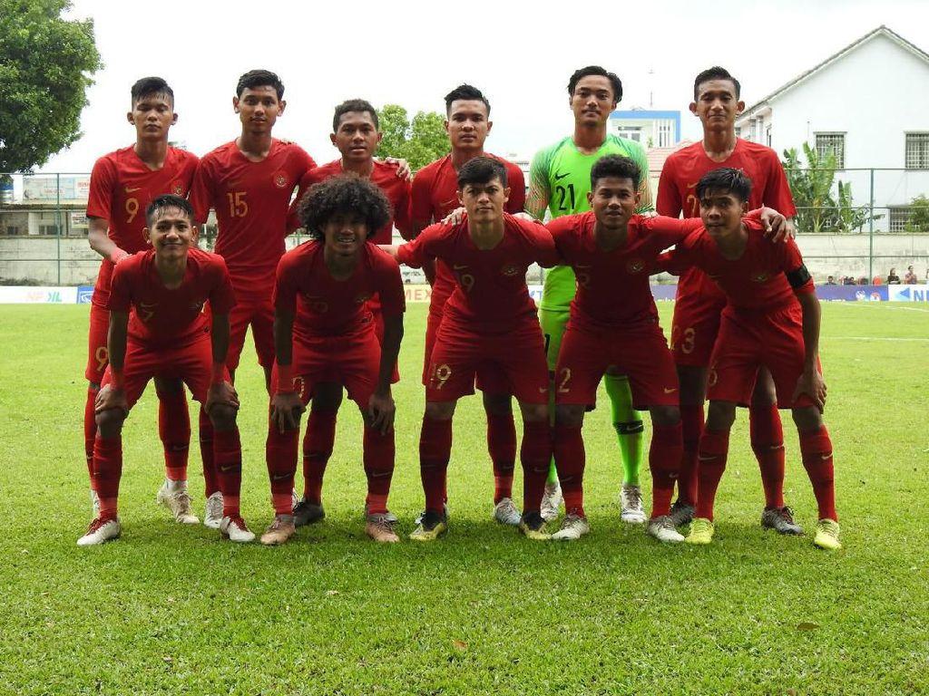 Babak I Indonesia Vs Timor Leste: Garuda Muda Unggul 3-0