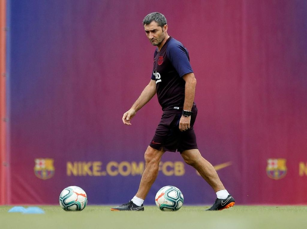 Move On dari Barcelona, Valverde Siap Melatih Lagi