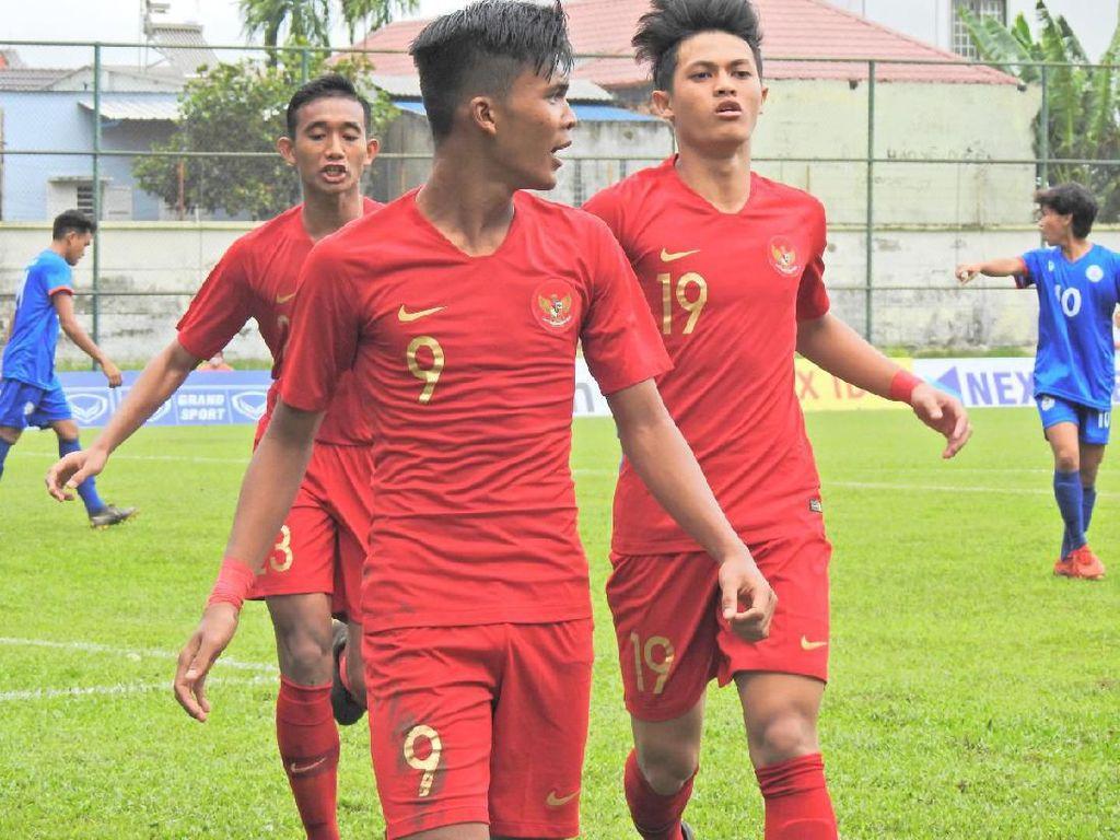 Piala AFF U-18: Indonesia Gilas Filipina 7-1