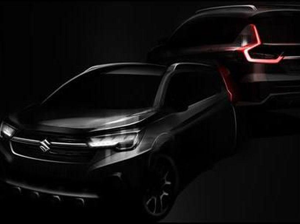 Suzuki Ertiga ala SUV, Debut Bulan Ini