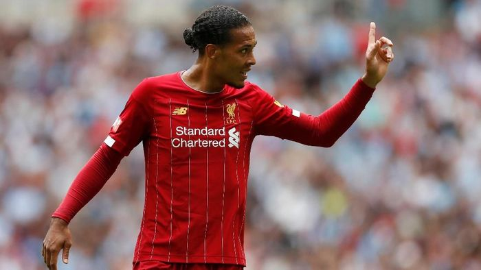 Bek Liverpool Virgil van Dijk. (Foto: Matthew Childs/Action Images via Reuters)