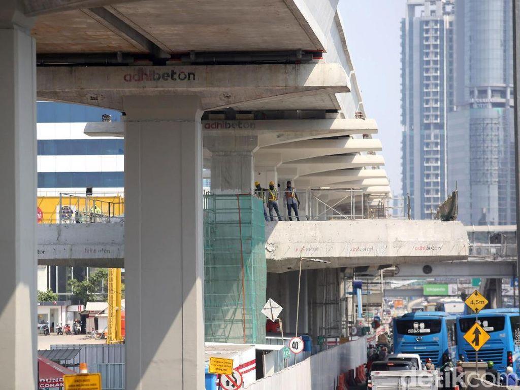 Operasi LRT Jabodebek Diundur ke 2021