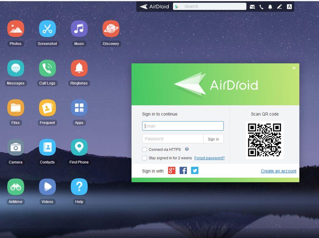 Cara Pakai AirDroid untuk Akses File Smartphone di PC