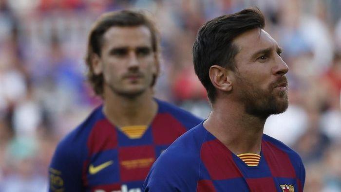 Image result for Antoine Griezmann Akui Meniru Teknik Lionel Messi di Barcelona