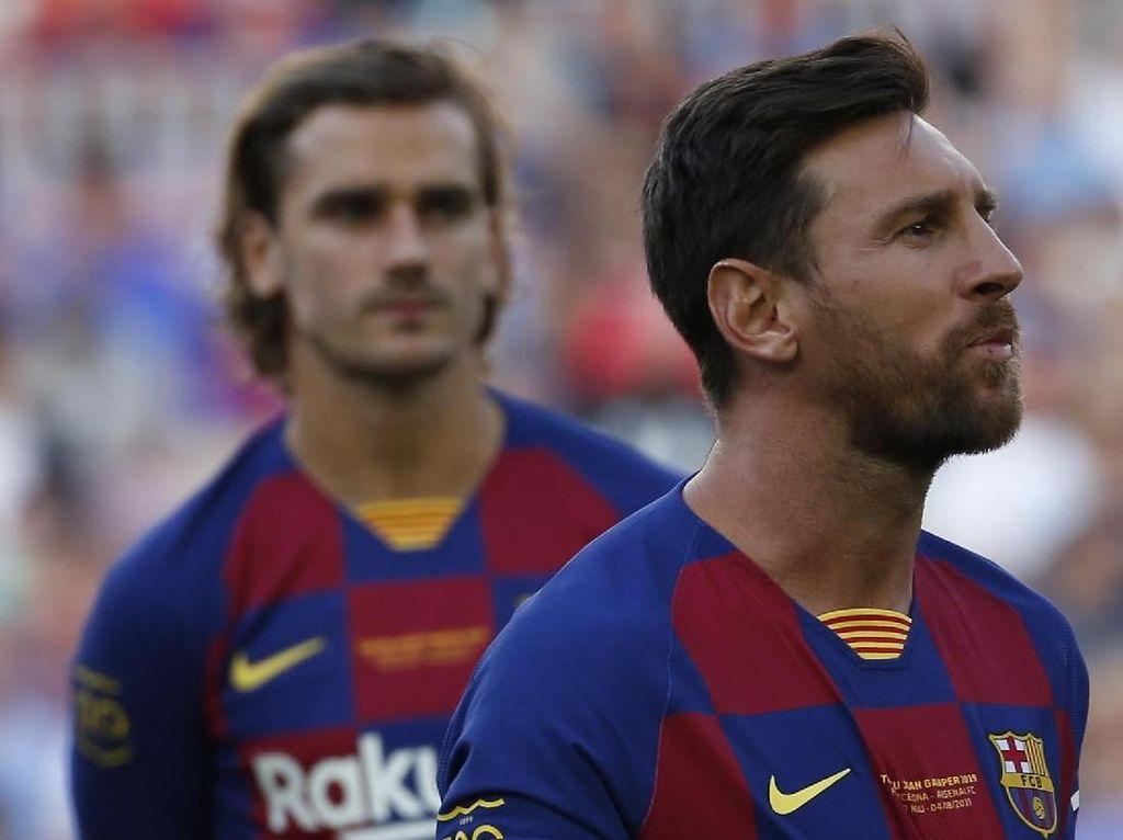 Sama-sama Pendiam, Griezmann Susah Jalin Koneksi dengan Messi