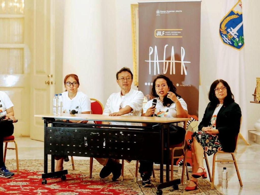 JILF 2019 Gaet 60 Penulis, Salah Satunya Novelis Palestina Adania Shibli