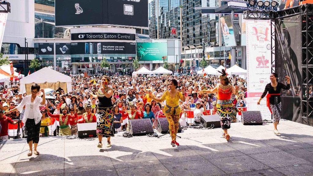 Foto: Meriahnya Festival Indonesia di Kanada