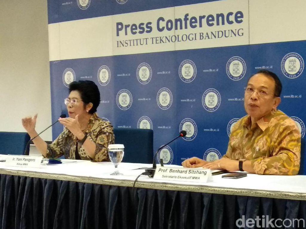ITB Gelar Pemilihan Rektor, Calon dari Luar Kampus Boleh Daftar