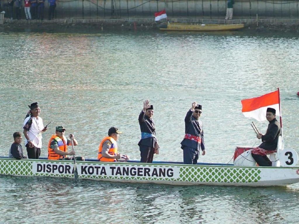 Pemkot Tangerang Segera Wujudkan Cisadane Waterway