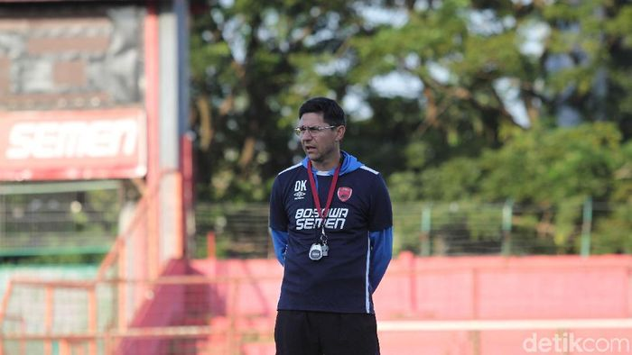 Darije Kalezic mundur dari pelatih PSM Makassar (Rifkianto Nugroho/detikSport)