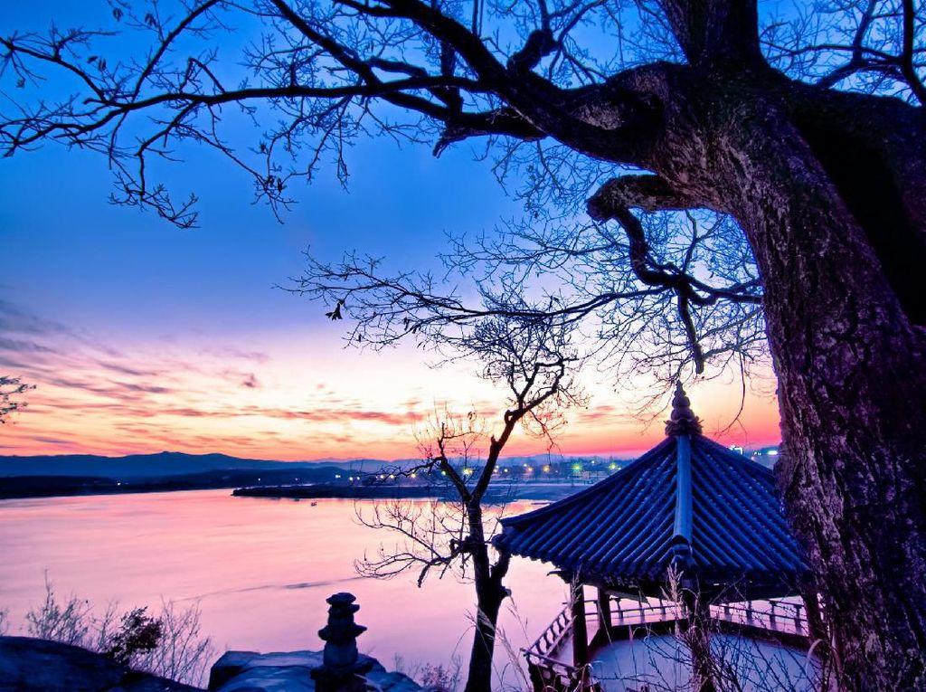 Foto: Kuil Paling Romantis di Korea Selatan