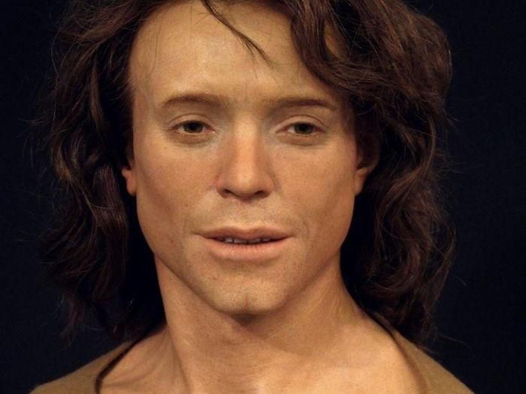 Wajah-wajah Realistis Manusia yang Hidup Ribuan Tahun Silam