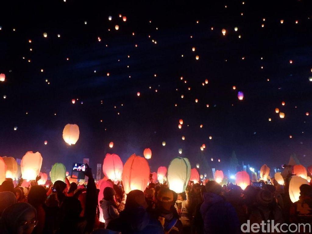 Dieng Culture Festival 2020 Hapuskan Pesta Lampion