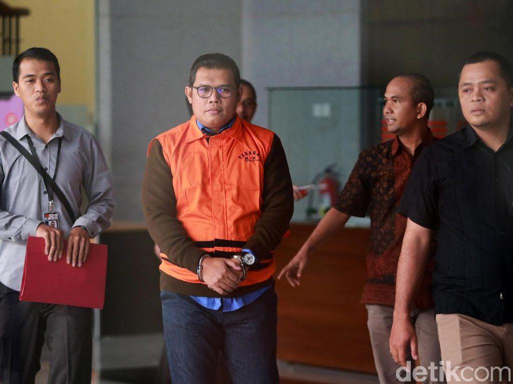 Jadi Tersangka Kasus Suap, Ketua F-Golkar DPRD Jambi Ditahan KPK