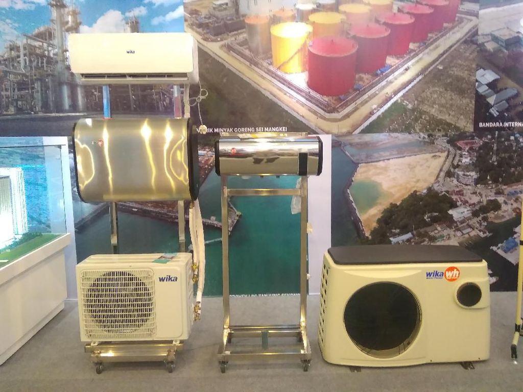 Manfaatkan Panas AC, Water Heater Ini Ramah Lingkungan dan Efisien
