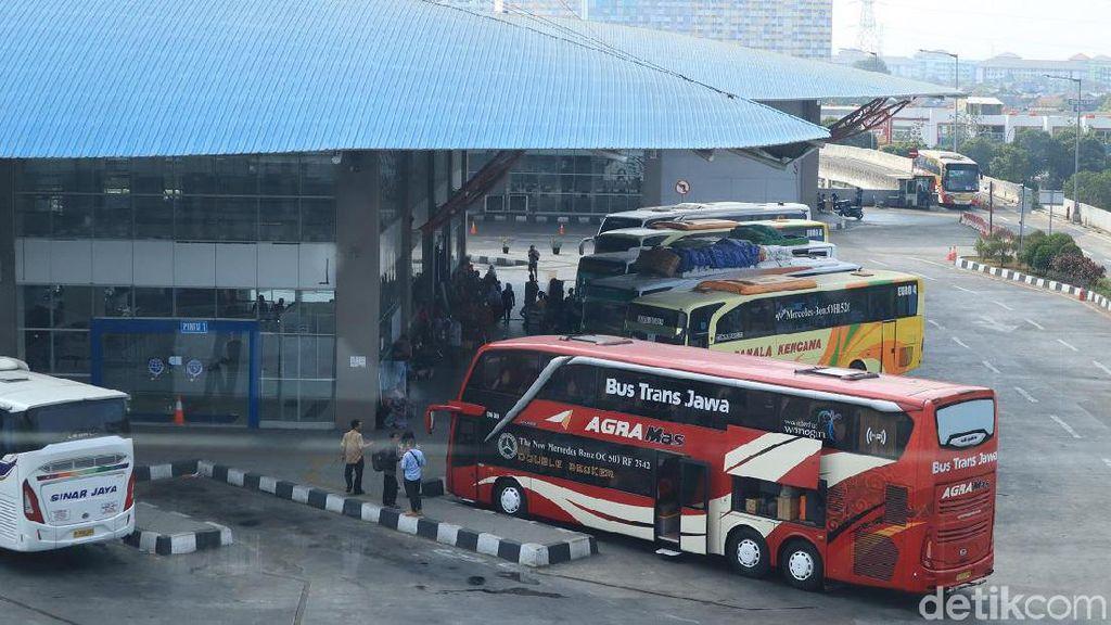 Foto Wajah Terbaru Terminal Pulogebang