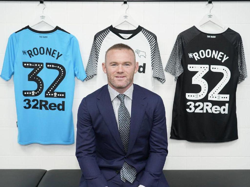 Motif Terselubung Derby County di Balik Nomor Punggung 32 Wayne Rooney