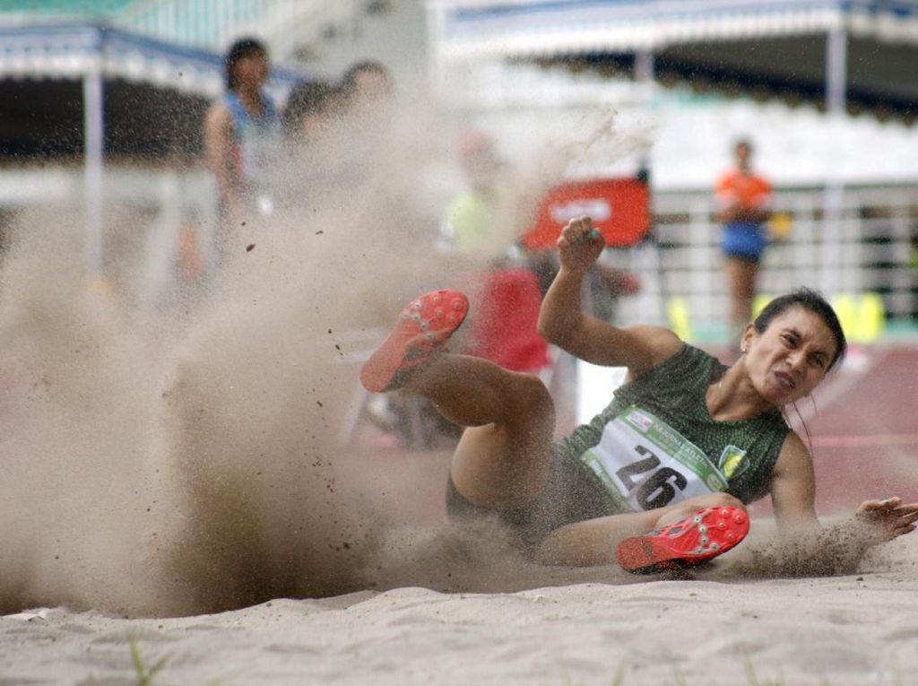 Maria Londa yang Terbaik di Lompat Jangkit Kejurnas Atletik