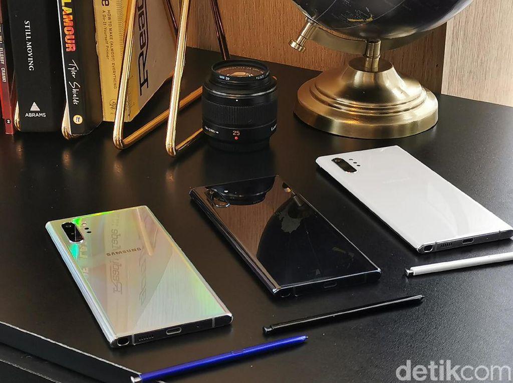 Cas Galaxy Note 10+ Tetap Oke walau Cuma Dibekali Charger 25W