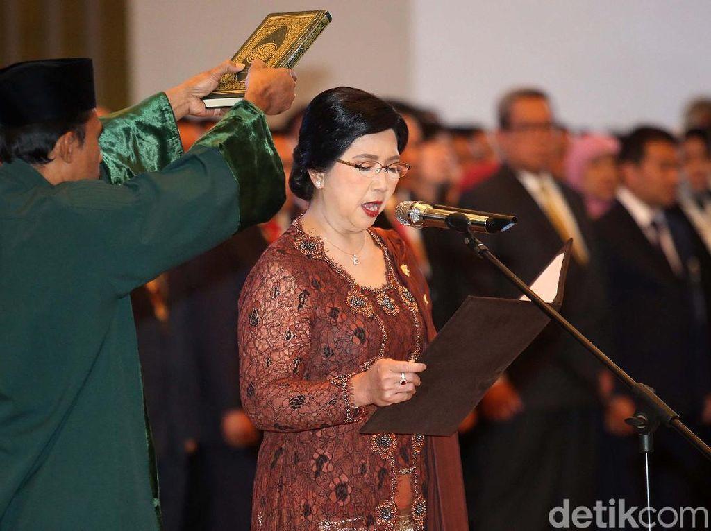 Destry Damayanti Dilantik Jadi Deputi Gubernur Senior BI
