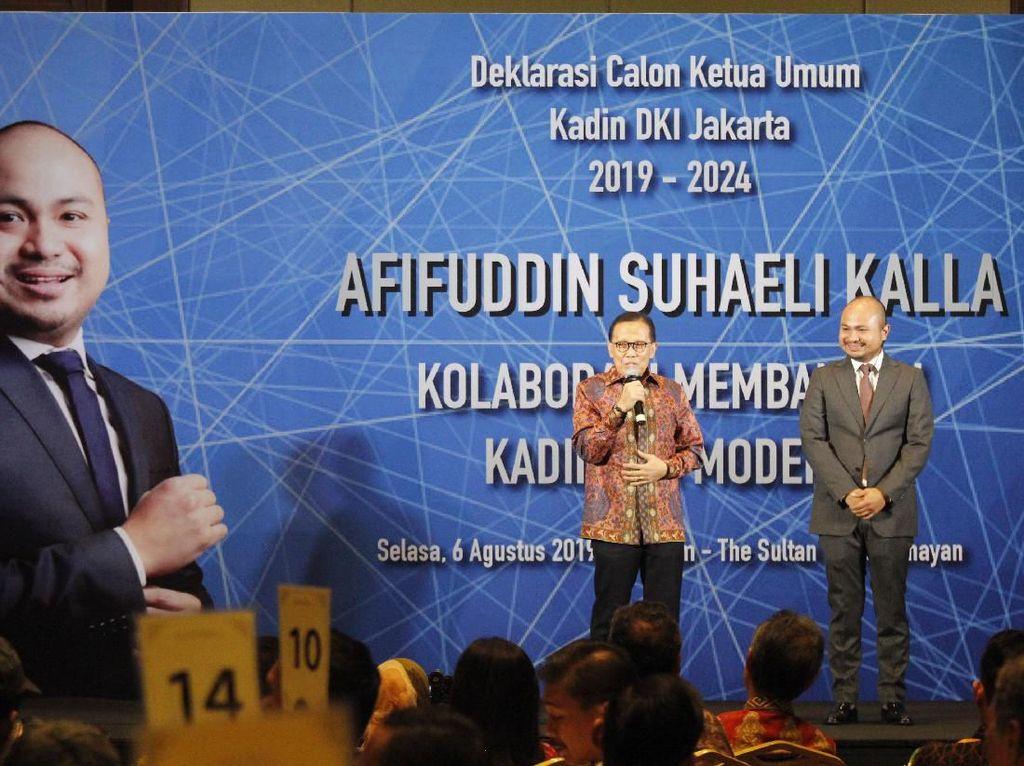 Momen Deklarasi Calon Ketum Kadin DKI Jakarta