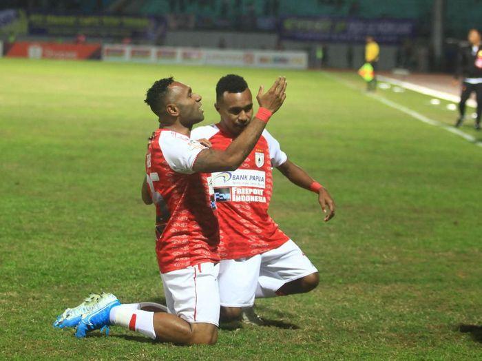 Persipura Jayapura akan menjamu Persija Jakarta. (Foto: Andreas Fitri AtmokoANTARA FOTO)