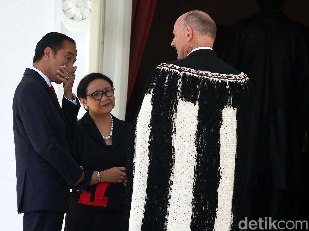 Pagi-pagi, Jokowi Terima 12 Dubes Negara Sahabat