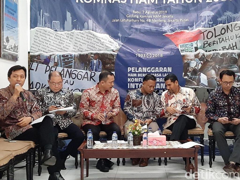Komnas HAM Minta Jokowi Tuntaskan Kasus HAM Berat