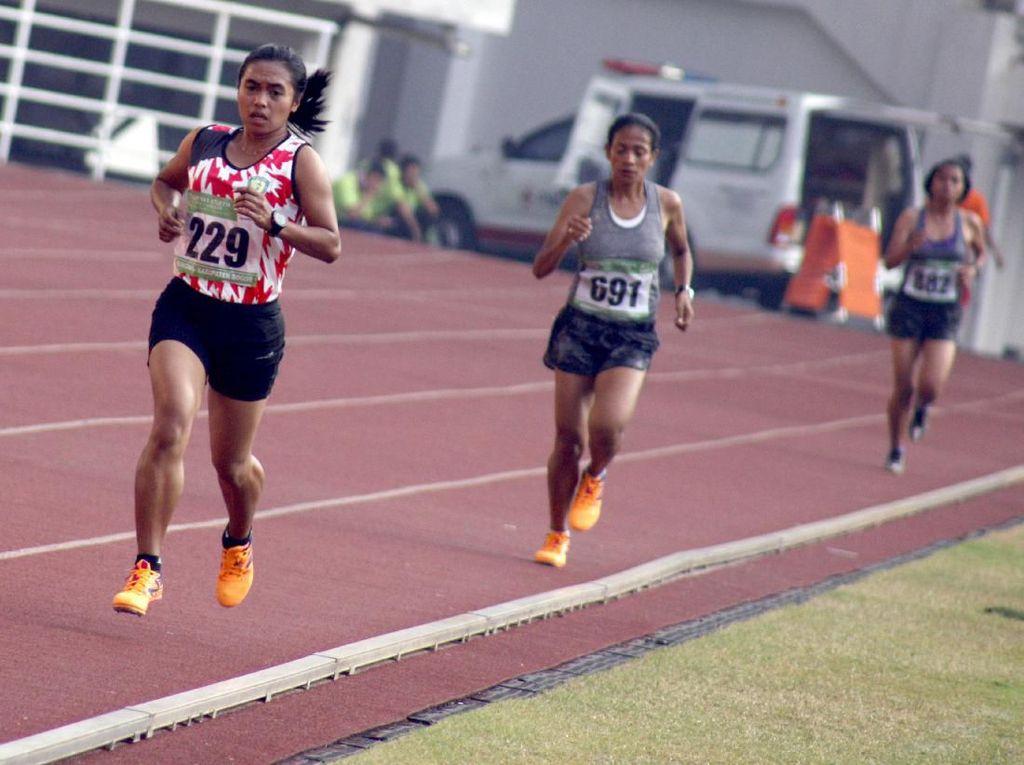 Triyaningsih Kantongi Emas tapi Tak Capai Limit di Lari 10.000 M Kejurnas Atletik