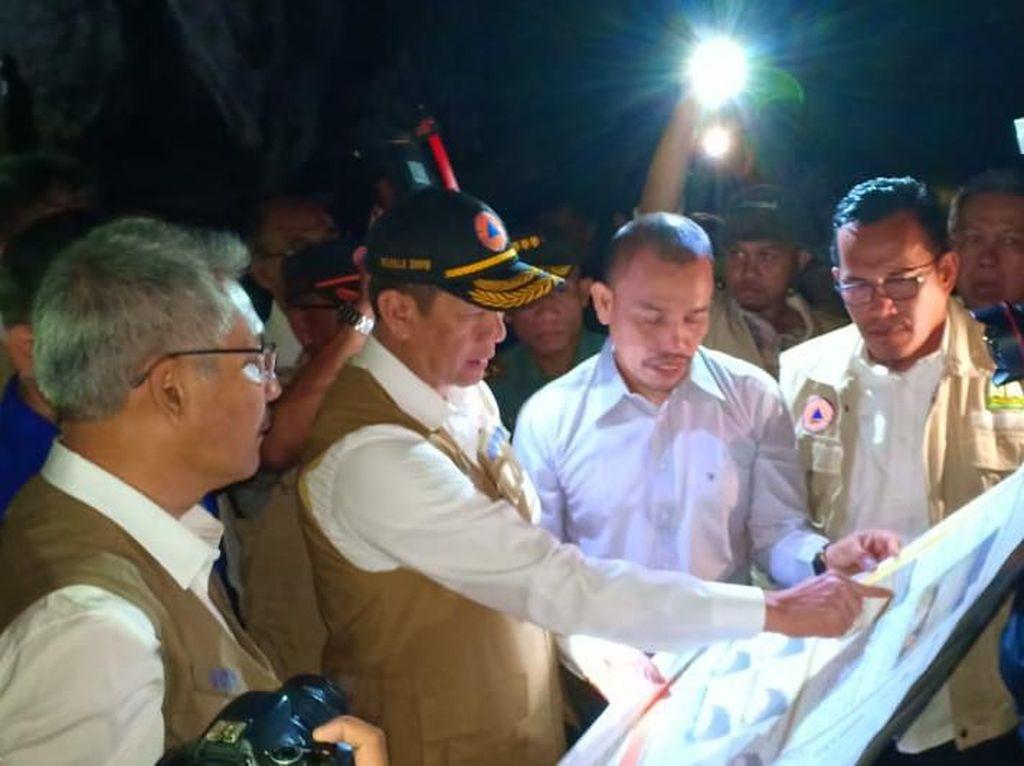 Kepala BNPB Kunjungi Gua Jejak Tsunami Aceh 7.400 Tahun Lalu