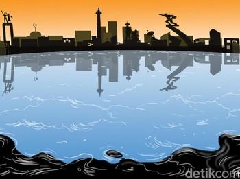 Siaga Tumpahan Minyak di Teluk Jakarta