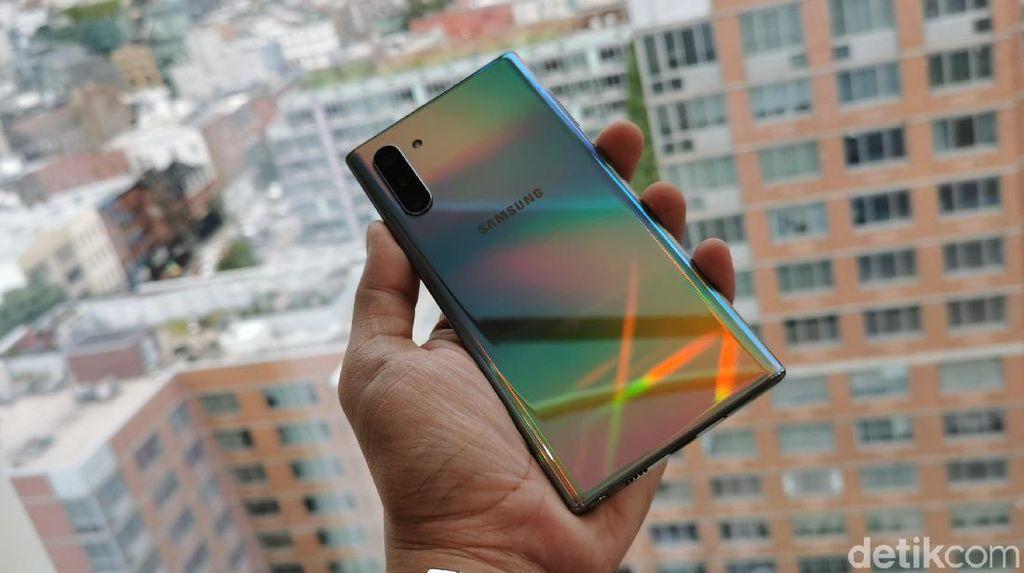Wujud Galaxy Note 10 dan Galaxy Note 10 Plus yang Baru Rilis