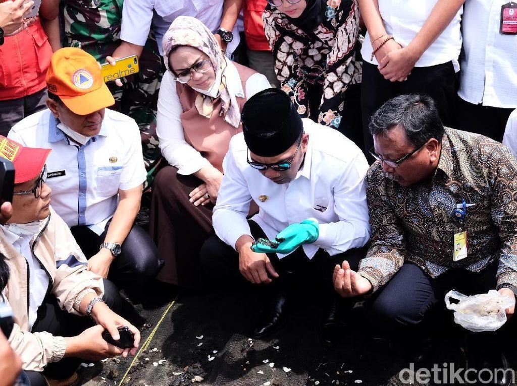 Ridwan Kamil Beri Target Pertamina 14 Hari Selesaikan Tumpahan Minyak