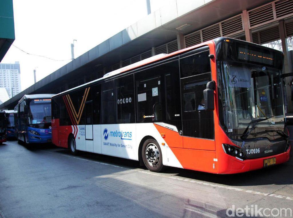 TransJ Makin Terintegrasi dengan Stasiun MRT