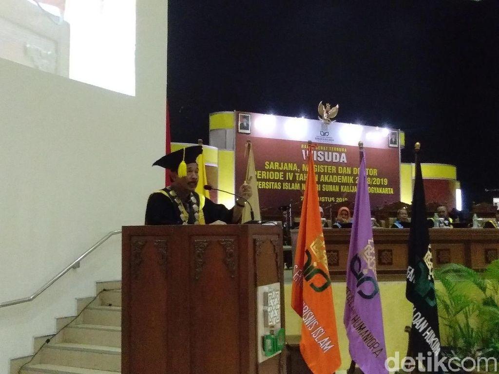 Tantang Menteri M Nasir, Rektor UIN Yogya Pertaruhkan Jabatannya