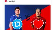 Ketika Netizen Bandingkan Harga Maguire vs Van Dijk