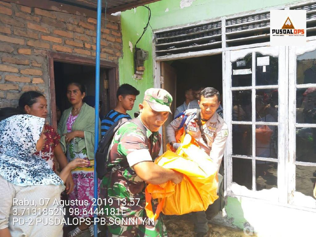 Kebakaran Rumah di Medan, 1 Bayi Laki-laki Tewas