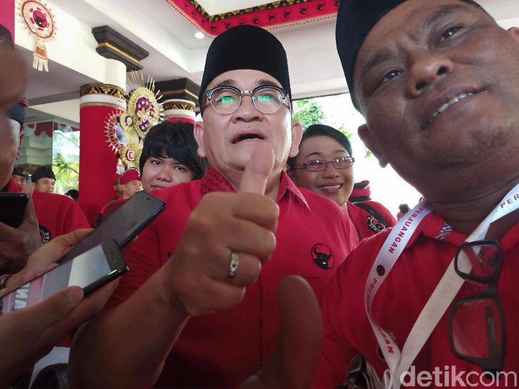 Hadiri Kongres PDIP, Ruhut Sitompul Ngaku Sudah 3 Tahun Jadi Kader