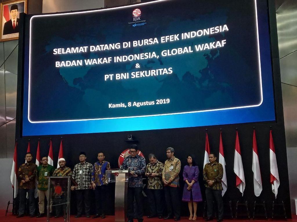 Wakaf Saham Dinilai Jadi Prospek Pertumbuhan Pasar Syariah