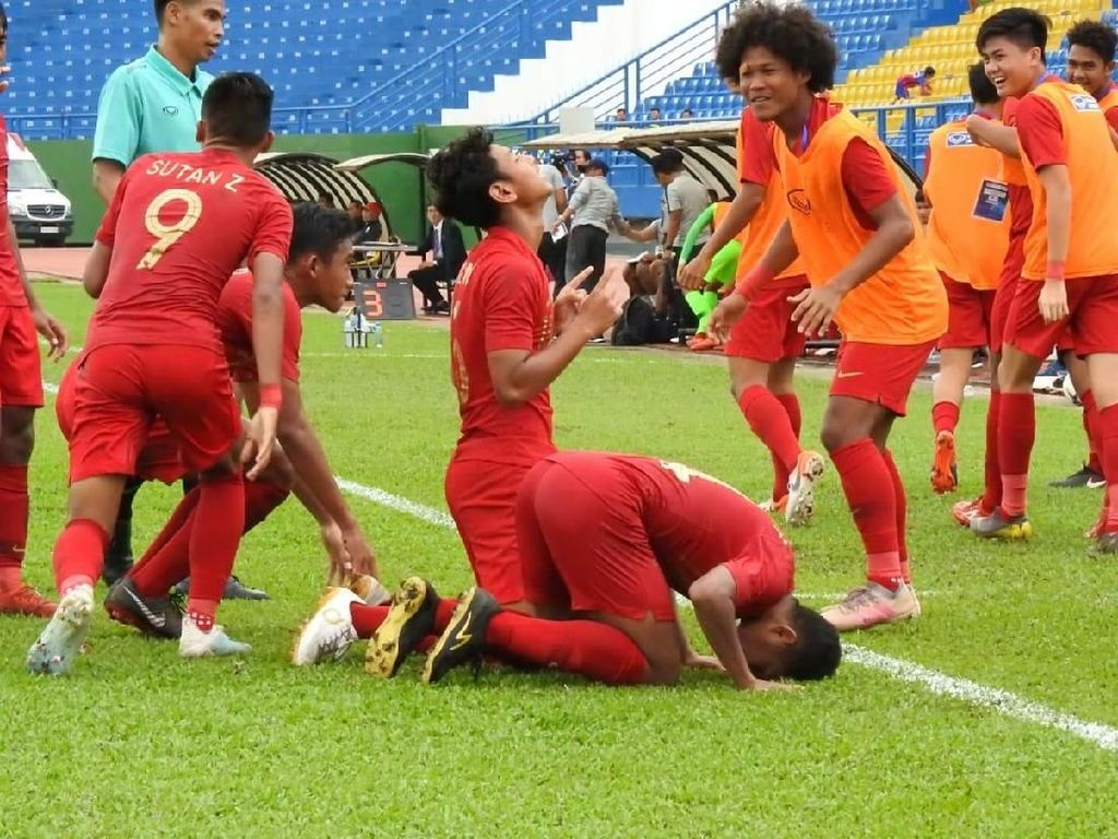 Hasil Indonesia Vs Timor Leste di Piala AFF U-18: Garuda Muda Menang 4-0