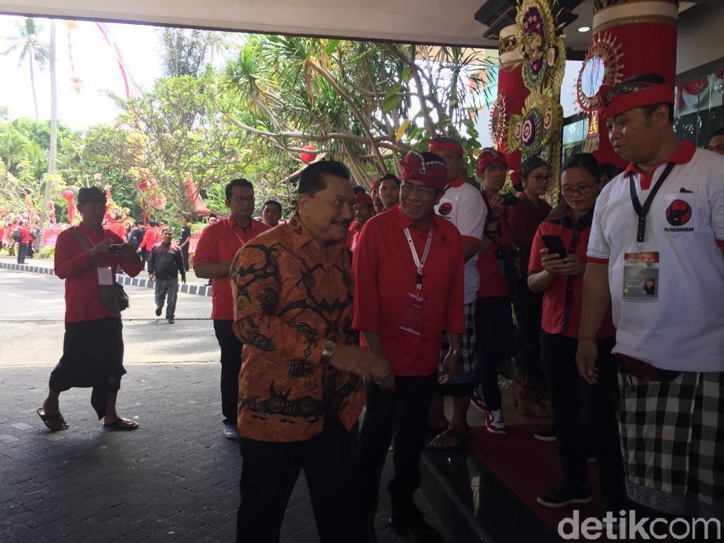 Hendropriyono hingga Menteri Yasonna Hadiri Kongres PDIP di Bali