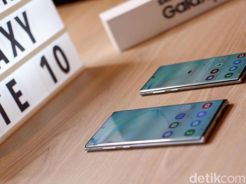 Samsung Ungkap Lubang Misterius di Galaxy Note 10