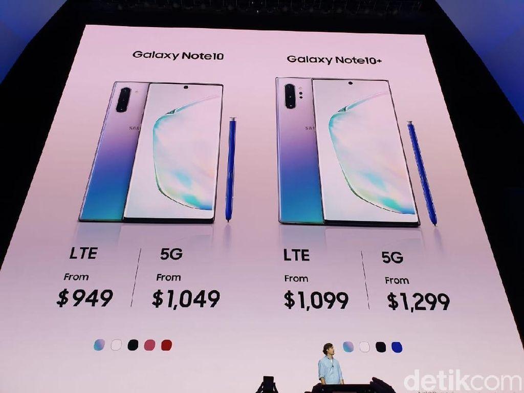 Alasan di Balik Adanya Galaxy Note 10 dan Galaxy Note 10+