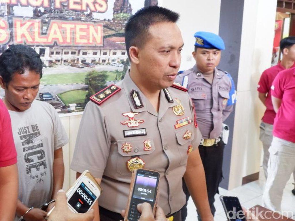 Polisi Tangkap Peneror Petasan Berisi Paku di Klaten