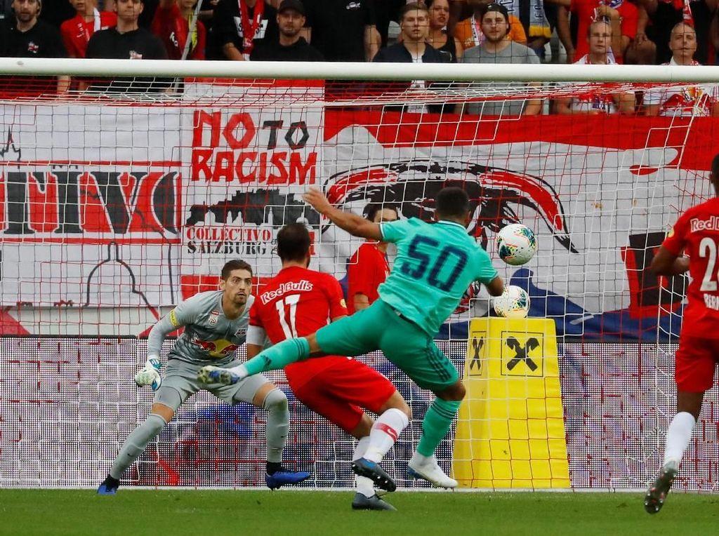 Laga Pramusim: Gol Tunggal Hazard Menangkan Real Madrid atas Salzburg