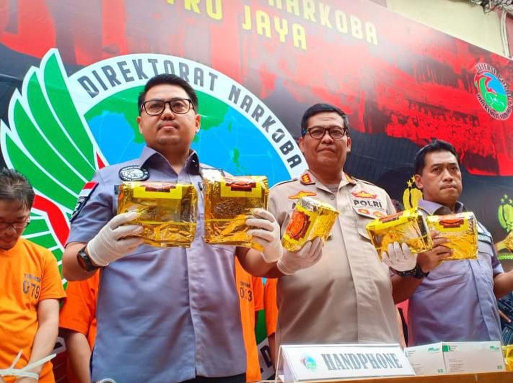 Polda Metro Gagalkan Penyelundupan 10 Kg Sabu Jaringan Malaysia-Jakarta